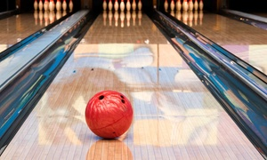 Taylor Lanes: Bowling Package for Two, Four, or Six Including Shoe Rental and Sodas at Taylor Lanes (Up to 50% Off)