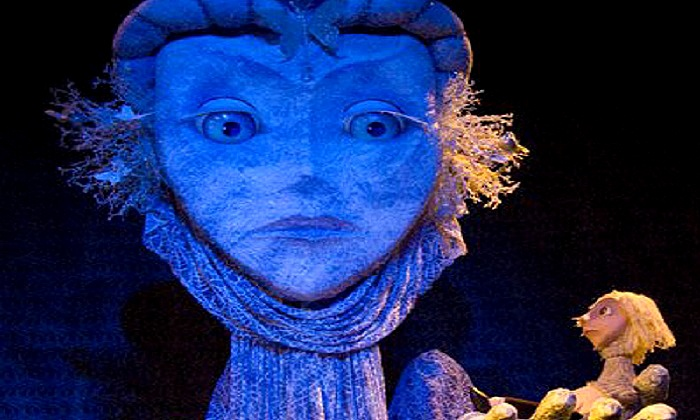 """PuppertART Presents: """"The Snow Queen"""" - Downtown: PuppetART Presents: """"The Snow Queen"""" at Detroit Music Hall Center on Sunday, October 5 (Up to 51% Off)"""