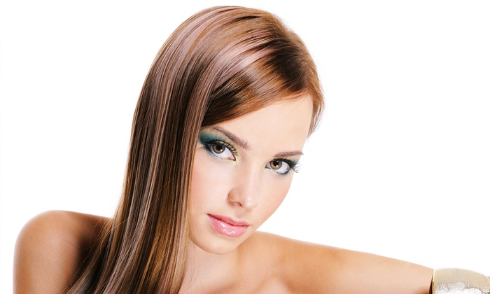 Christopher Anthony Salon & Spa - (Temporarily closed): One or Two Keratin Hair Treatments at Christopher Anthony Salon & Spa (Up to 73% Off)