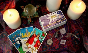 Psychic Advisor: Psychic-Reading Package, Aura Reading, or Full-Life Psychic Reading at Psychic Advisor (Up to 58% Off)