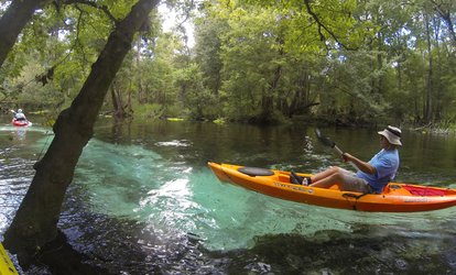 image for Half-Day Canoe Trip on the Santa Fe River for Two, Four, or Six from Rum 138 (Up to 42% Off)