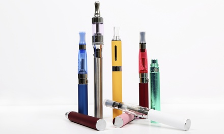 One or Two E-Cigarette Packages, Vaporizer Kit, or Eight Disposable E-Cigarettes from Ego Vapor (Up to 67% Off). Redeem Online or In-Store.