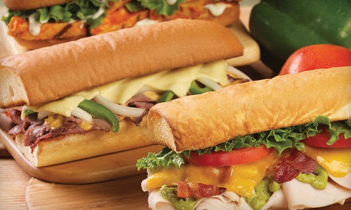 Goodcents Deli Fresh Subs - Uptown: Sub Meal with Chips & Drinks for Two or Large Party Tray with Chips for 15 at Goodcents Deli Fresh Subs (Up to 54% Off)