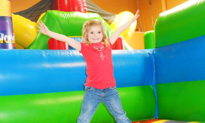 Kangaroo Kids Inflatable Party Center - Deer Park: 5 Open-Play Sessions at Kangaroo Kids Inflatable Party Center (Up to 62% Off)