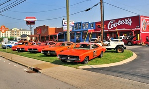 Cooter's Place: One Photo Package with General Lee or $10 for $20 Worth of Merchandise at Cooter's Place