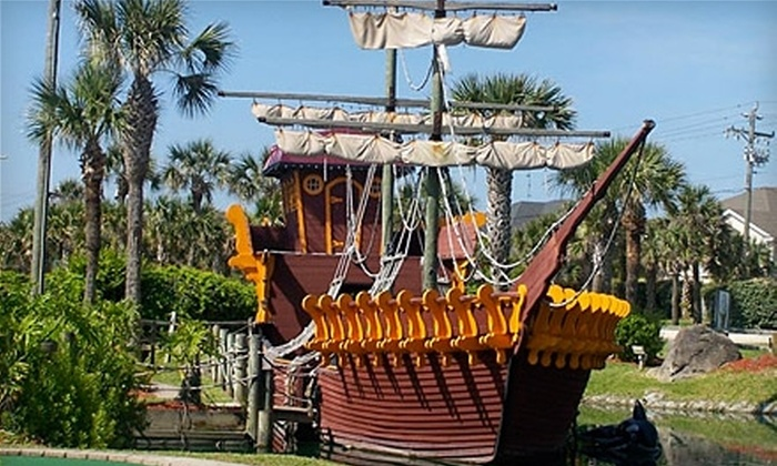 Fiesta Falls Miniature Golf - St. Augustine Beach: Mini Golf for Two, Four, or Six at Fiesta Falls Miniature Golf (Up to 56% Off)