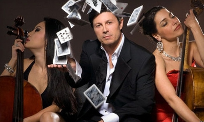 """The Magic of Ivan Amodei in """"Intimate Illusions"""" - Beverly Hills: $29 to See Intimate Illusions Magic Show in Beverly Hills (Up to $70 Value)"""
