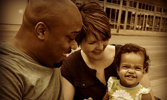 Indelible Images - Des Moines: Photo Package with a CD of Copyright-Released Digital Images for Up to Eight People from Indelible Images (60% Off)