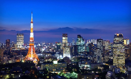 Seven-Day Tokyo Vacation with City Tour, Airfare, and Accommodations from Friendly Planet Travel from Tokyo Vacation with Airfare -