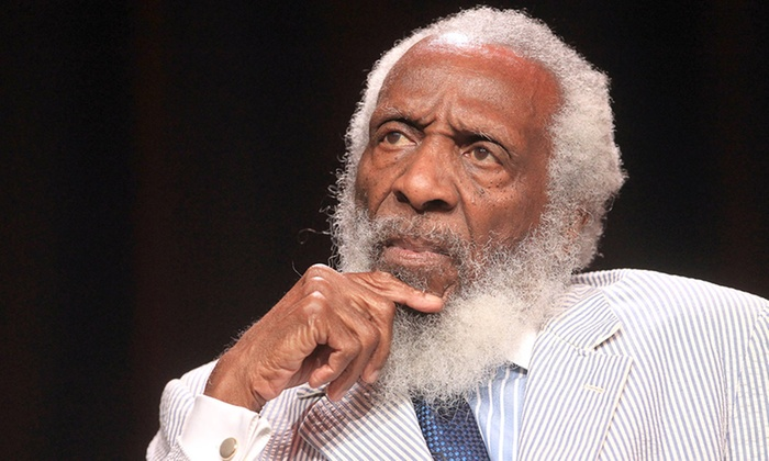"Dick Gregory's ""What's Going On"" In America - Detroit: Dick Gregory's ""What's Going On"" In America for Two at Music Hall Center on Friday, November 14 (Up to 51% Off)"