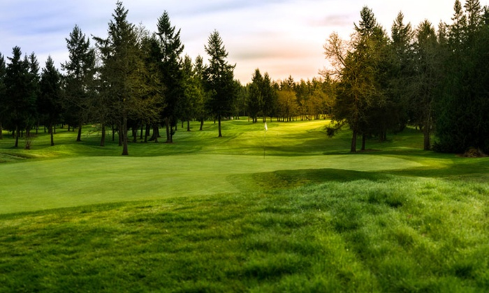 RMG Club - Multiple Locations: Golf Round for Two with Cart Rental and Two Beers at RMG Club (Up to 55% Off). Twelve Options Available.