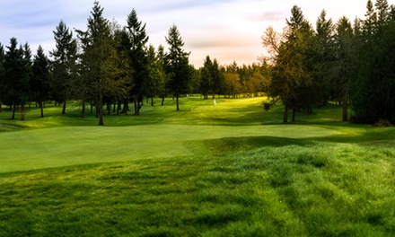 Golf Round for Two with Cart Rental and Two Beers at RMG Club (Up to 55% Off). Twelve Options Available.