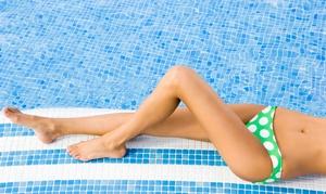 Ruby Room Spa: Three Bikini Waxes and Three Leg Waxes from Ruby Room Spa (70% Off)