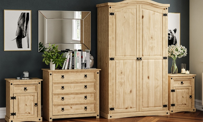 Corona Bedroom Furniture Range
