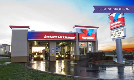 Oil Change at Valvoline Instant Oil Change (Up to 52% Off). Three Options Available.