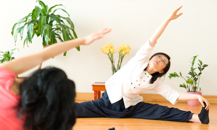 Body & Brain - Multiple Locations: $39 for 10 Yoga Classes or a Month of Unlimited Yoga Classes at Body & Brain ($150 Value)