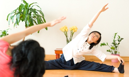 $39 for 10 Yoga Classes or a Month of Unlimited Yoga Classes at Body & Brain ($150 Value)