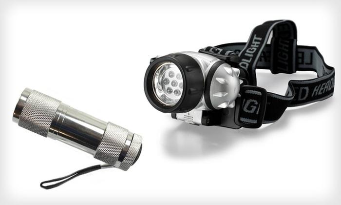 LED Headlamp and Flashlight Set: $4.99 for a ThinkTank LED Headlamp and Flashlight Set ($22.99 List Price). Free Returns.