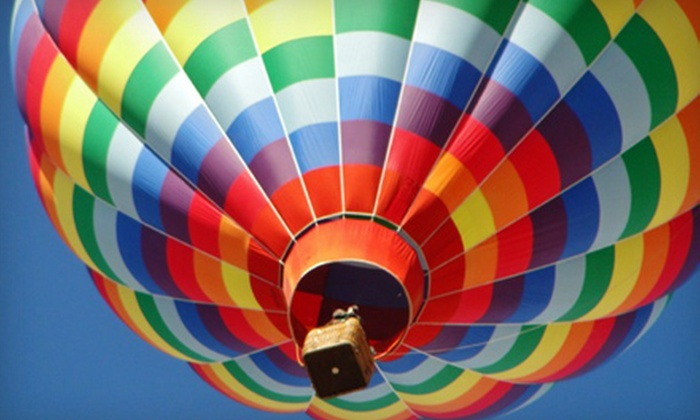 Nostalgia Ballooning - Las Cruces: Group Hot Air Balloon Ride for One or Private Balloon Ride for Two from Nostalgia Ballooning (Up to Half Off)