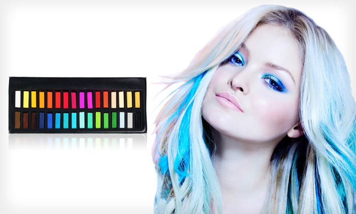 Blendable Hair-Color Chalk: $11.99 for Gypsy Stix Hair-Color Chalk ($45 List Price)