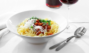 The Pasta Tree Restaurant & Wine Bar: Italian Cuisine and Drinks at The Pasta Tree Restaurant & Wine Bar (Up to 48% Off)