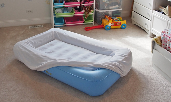 Kids Air Bed With Bumper Groupon Goods