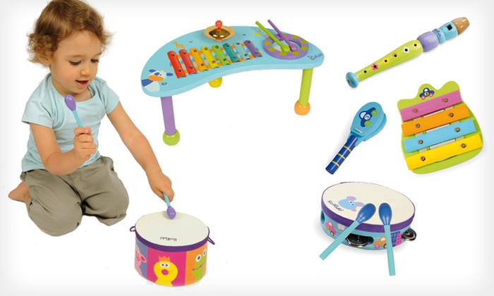 Boikido Wooden Musical Sets: Boikido Wooden Musical Sets (Up to 39% Off). 3 Sets Available. Free Shipping and Returns.