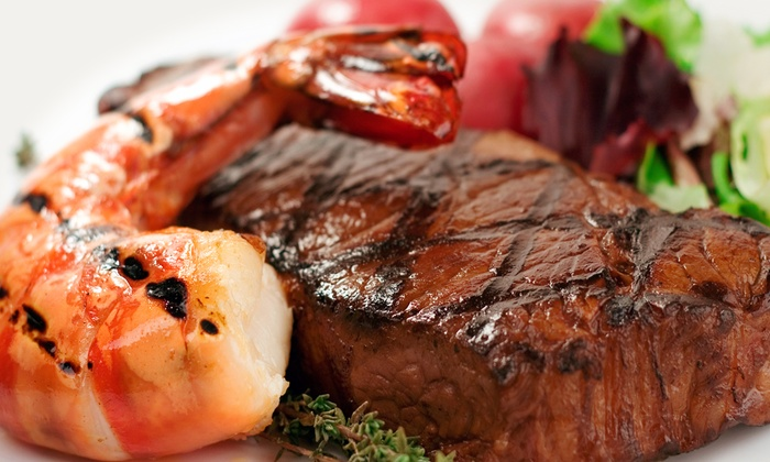 Surf & Turf 35 and Fish Market - Hazlet: Surf 'n' Turf Dinner at Surf & Turf 35 (Up to 51% Off). Four Options Available.