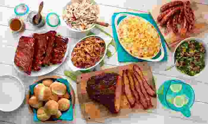 HoneyBaked Ham - Multiple Locations: $22 for Choice of Summertime Barbecue Meal Package from HoneyBaked Ham (Up to 53% Off)