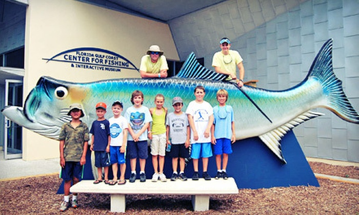 Florida Gulf Coast Center For Fishing and Interactive Museum - Clearwater: Visits for Two or Four or One Class at Florida Gulf Coast Center For Fishing and Interactive Museum (Up to 51% Off)