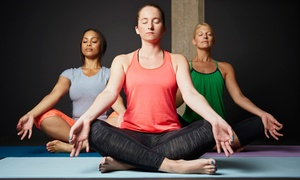 Anytime Fitness: 10 or 20 Yoga Classes or One Month of Yoga and Fitness Classes at Anytime Fitness (Up to 79% Off)