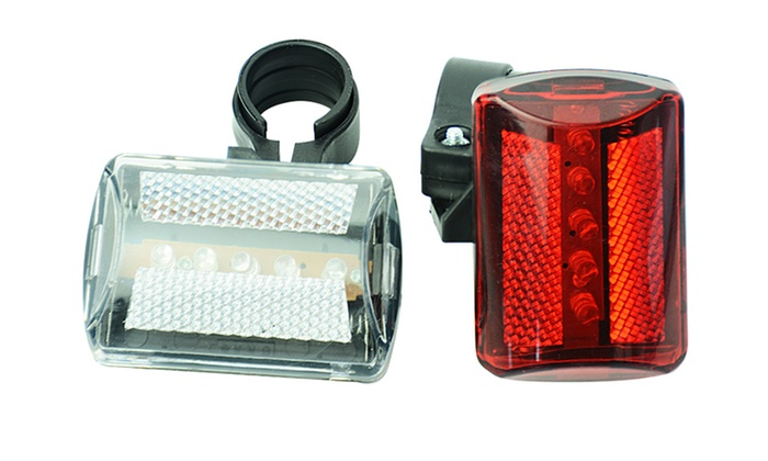 Groupon Goods Global GmbH: Vivo Front and Rear LED Bicycle Lights