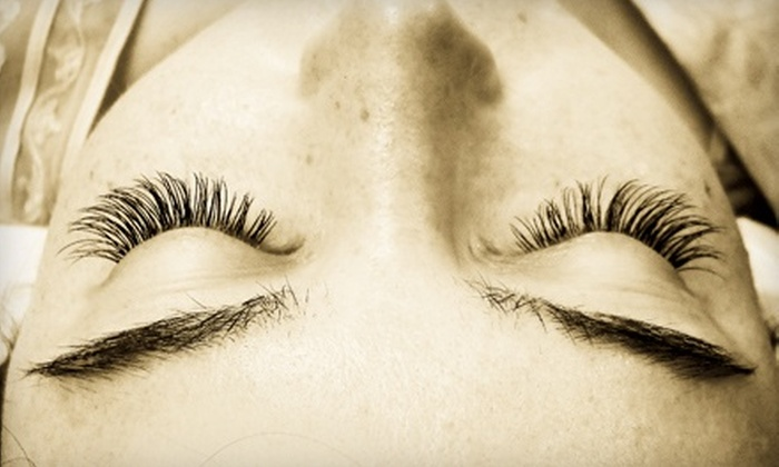 Princess Lashes - West Lake Hills: Full Set of Eyelash Extensions with One Refill at Princess Lashes (Up to 70% Off). Two Options Available