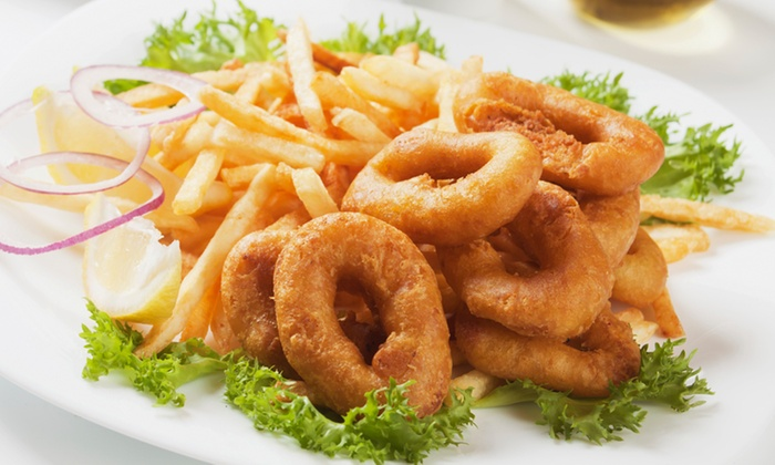 Crispies Fish & Chips - Cape Town: Calamari and Chips From R69 with Sauce at Crispies Fish and Chips (Up To 54% Off)