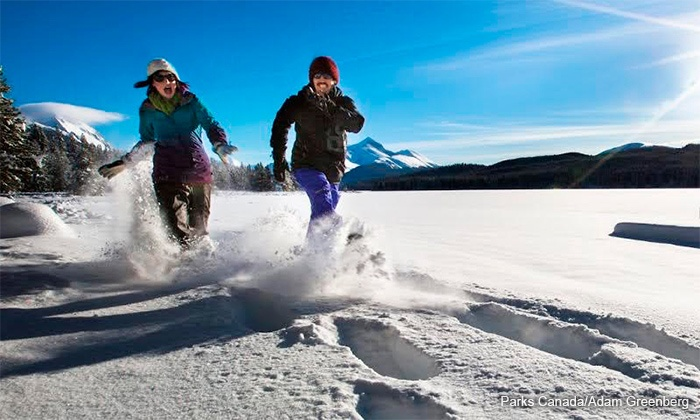 Blitz Events Inc - Fairmont Jasper Park Lodge: Admission for One, Two, or Four to the Blitz Snowshoe Fun Run on January 23 (Up to 46% Off)