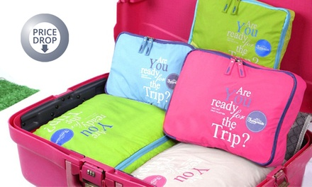 One or Two FivePiece Luggage Organiser Bags Set from £6.95