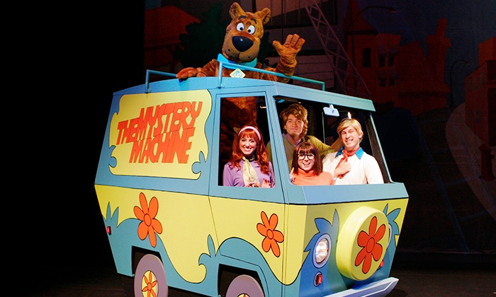"""""""Scooby-Doo Live! Musical Mysteries"""" - Akron Civic Theatre: """"Scooby-Doo Live! Musical Mysteries"""" at Akron Civic Theatre on Saturday, April 5, at 2 p.m. or 5 p.m. (Up to 50% Off)"""