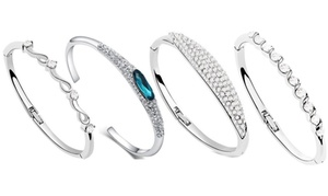 Bracelets avec cristaux
