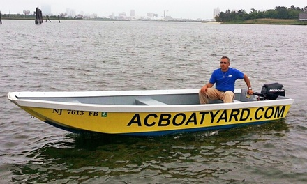 Four- or Eight-Hour 16' Skiff Rental for Up to Four People at Atlantic City Boatyard (Up to 43% Off)