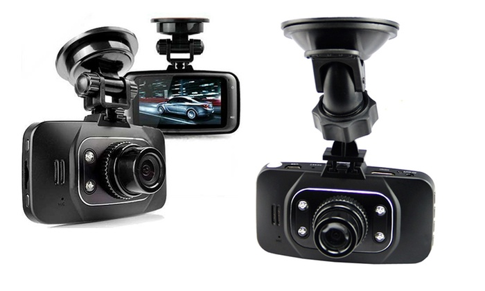 Car Camera with 1080p and Optional 16 GB or 32 GB MicroSD Card