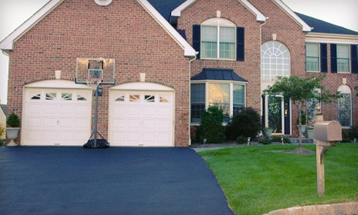 Missouri Brothers Asphalt - Sunrise Estates: Driveway Seal Coating for Up to 800 or 1,000 Square Feet from Missouri Brothers Asphalt (Half Off)