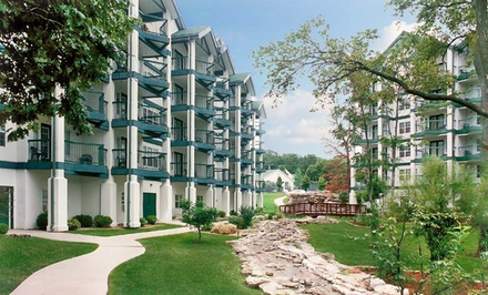 groupon daily deal - 2-Night Stay in a One-, Two-, or Three-Bedroom Condo at Carriage Place in Branson, MO