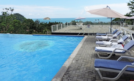 3-, 4-, or 5-Night Stay for Two in Deluxe Ocean-View Room at El Faro Beach Hotel in Costa Rica. Combine Up to 10 Nights.