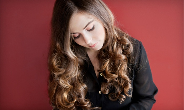 Shampoo Salon - Shrewsbury: Haircut Package with Optional Goldwell Color or Highlights and Lowlights at Shampoo Salon (Up to 61% Off)
