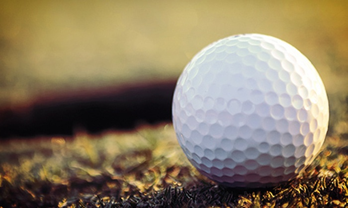 MediaScene - Winnipeg: $20 for Three 18-Hole Rounds of Golf and One Hour of Virtual Golf for Two from MediaScene (Up to $155 Value)