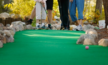 Two Groupons, Each Good for One Round of Mini Golf for Two or Four with Concession Credit at Golfland USA (Half Off)