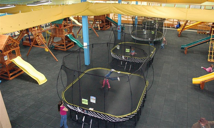 Recreations Outlet - Multiple Locations: $24 for Six Weekday or Weekend Kids' Play Passes at Recreations Outlet (Up to $48 Value)