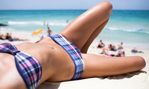 Maxim A Salon: 1, 3, or 5 Airbrush Spray Tans or One-Month Unlimited Tanning in a Bed at Maxim A Salon (Up to 67% Off)