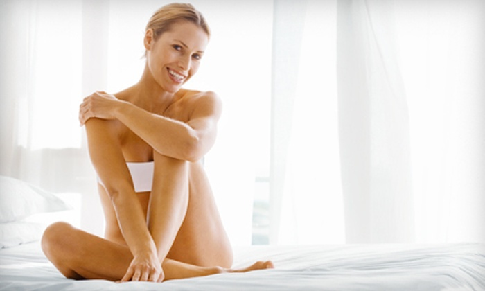 Elegance Medi Spa - Multiple Locations: Laser Hair Removal at Elegance Medi Spa (Up to 86% Off). Three Options Available.
