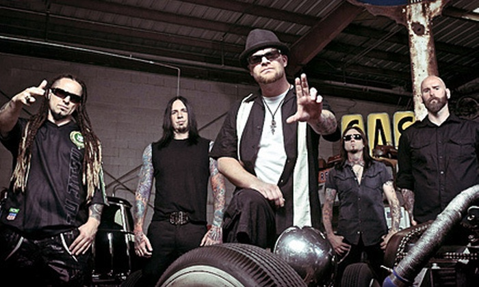 Five Finger Death Punch & More - XFINITY Theatre: $25 for Trespass America Festival at Scion Festival Stage at Comcast Theatre on August 15 at 5 p.m. (Up to $51.85 Value)